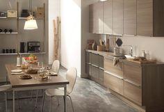 Canapé Places NARVIK Tissu Gris Clair Salon Scandinave Tissu - Canapé 3 places pour relooking de cuisine