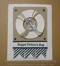 Stampin' & Scrappin' with Stasia: Stamping Royalty Nautical Theme