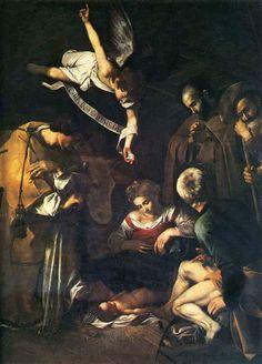 Caravaggio: De geboorte van Christus