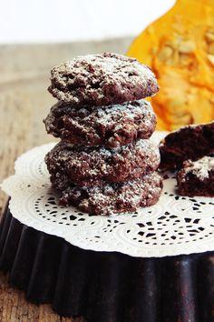 s'Bastelkistle: Kürbis Schoko Cookies