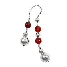 Home :: Accessories :: By Category :: String of beads, Begleri :: Carnelian Begleri, Spherical Edges Christmas Jewelry, Carnelian, Special Gifts, Drop Earrings, Chain, Beads, Silver, Stones, Handmade