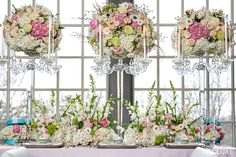 Bring Your Table to Life with These Colorful Centerpieces and Decor.  WedLuxe Magazine