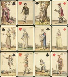 """Игральные карты """"Гёте"""", репринт 1804г.,  Lo Scorobeo, Италия"""