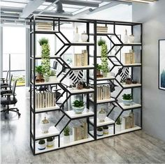Tieyi living room partition shelf creative shelf display shelf beauty salon cosmetics display cabinet display shelf - Aliexpress - Lilly is Love Living Room Partition Design, Room Partition Designs, Home Decor Furniture, Diy Home Decor, Furniture Design, Regal Display, Indoor Balcony, Iron Balcony, Living Room Decor