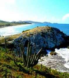 Playa Parguito municipio Antolín del Campo. Isla de Las Perlas, Venezuela