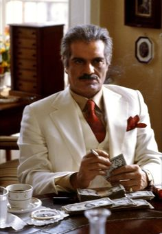 Omar Sharif My mother once played bridge with him.