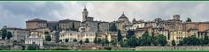 ITALY, Bergamo, città alta (Berghem de sura) - Vista da Porta Nuova, città bassa (Berghem de sota)   Flickr - Photo Sharing!
