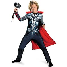 Thor Movie Classic Costume - X-Small @ niftywarehouse.com