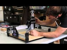 Shapeoko 2 Works Kit Tutorial - Desktop CNC Carver Router by Inventables - YouTube