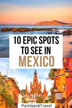 10 Epic Spots to Visit in Mexico - Traveling to Mexico? Here are 10 totally gorgeous spots you need to put on your Mexico itinerary. Mexico Vacation, Mexico Travel, Mexico Trips, Italy Vacation, Cruise Vacation, Disney Cruise, Cool Places To Visit, Places To Travel, Places To Go