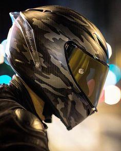 "AGV Pista GP ""Mimetica"" Helmet: @agvhelmets Gear: @daineseofficial Photo: @melhummel Rider: @adeysworld #agvrider #dainesecrew #ducatistagram"