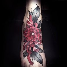 If you love flowers, then think about getting a Chrysanthemum tattoo design. They have a lot of history, and this flower is one of the most cultivated ones in the world. They are so popular in fact that they reign high as the most purchased flowers for gardening. They are considered to be the Queen of the Fall Flowers. Gardeners have been breeding these flowers for centuries creating flowers of many different colors. Now you can get a Chrysanthemum in colors such as red, yellow, bronze…