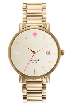 men's watch with a pink touch