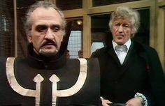 The Master the Doctor. Jon Pertwee and Roger Delgado Jon Pertwee, 13th Doctor, Eleventh Doctor, Original Doctor Who, Classic Doctor Who, Doctor Who Art, Sci Fi Tv, Sci Fi Series, Rory Williams