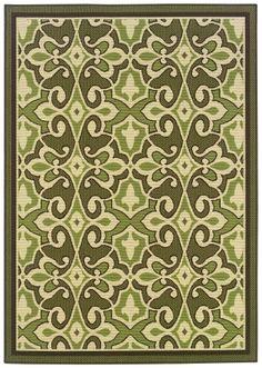 Sphinx by Oriental Weavers Montego 2335G Green Casual Rug