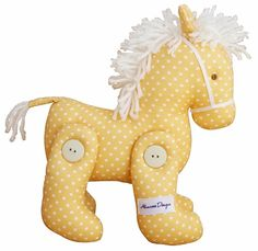 Jointed Toy Pony - Butter Spot - The perfect nursery decor piece for little boys or girls! Suitable from 3 yrs.