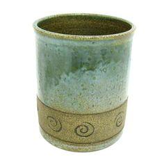 Stoneware Pottery Utensil Holder. $32.00, via Etsy.