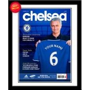 Personalised Chelsea Magazine Front Cover :: Add any name to this Personalised Chelsea Magazine Front Cover. A perfect gift idea for any Chelsea FC fan. Chelsea Name, Chelsea Fc, Personalized Football, Personalized Gifts, Gifts For Boys, Fathers Day Gifts, Magazine Front Cover, Gifts For Football Fans