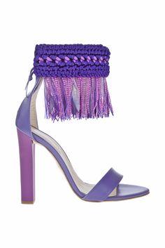 Roberto Cavalli Shoes SS 2012