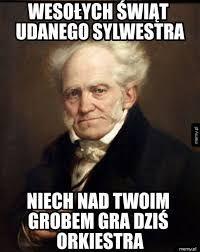 Znalezione obrazy dla zapytania schopenhauer memy