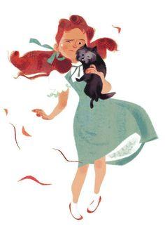 The Art of Annette Marnat Art And Illustration, Illustrations Vintage, Character Illustration, Character Design Girl, Character Design References, Character Concept, Character Art, Concept Art, Pretty Art