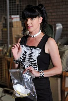 """Pauley Perrette (""""NCIS""""), 42  It's not just the pigtails that make """"NCIS's"""" Pauley Perrette (Abby Sciuto) look forever young, but they certainly don't hurt. The popular star has enough energy and enthusiasm to make anyone jealous, but even more so when you consider that she'll be 43 on March 27. If sleeping in a coffin like Abby does can do that for you, it may be worth trying out."""