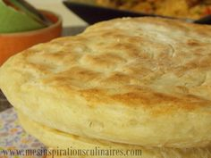 Matlouh, Khobz tajine (pain sans petrissage)
