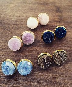 Kendall Stud Earrings from Vinnie Louise vinnielouise.com #studearrings #earrings
