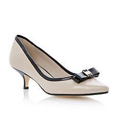 DUNE LADIES Multi CANDELABRA - Two-Part Ankle Strap Kitten Heel Pump | Dune Shoes Online