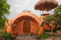 small house design in dome shape