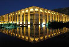 Palácio Itamaraty. Ministry of External Relations. Brasilia, Brazil. by Francisco Aragão.