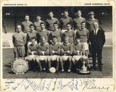 MANCHESTER UNITED F.C , CAMPEÓN DE LIGA 1964/65