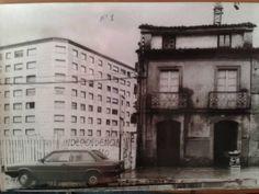 Rosalía de Castro esquina Plaza de Vigo - Compostela Plaza, Historia, Santiago De Compostela, Antique Photos, Cities