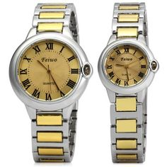 FEIWO 8216 Couple Quartz Watch Water Resistant Wristwatch-12.72 and Free Shipping| GearBest.com