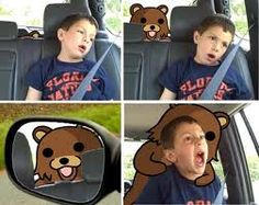 Pedobear Attack by rainbowbatch - A Member of the Internet's Largest Humor Community Funny Fails, Funny Memes, Hilarious, Dentist Meme, Pedobear, Grumpy Cat Quotes, Internet Memes, Good Jokes, Know Your Meme