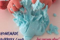Homemade Rubbery Goop Recipe | Learning 4 Kids