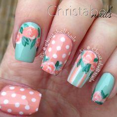 ChristabellNails Vintage Nails Tutorial