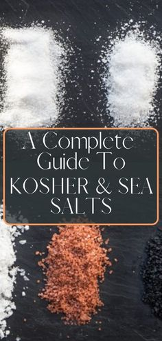 A complete guide to kosher and sea salts. Kosher Salt is the glue to many great dishes, and a great way to add a finishing touch to a dish. We'll explain what sea versus kosher salt is, and why you may want to consider these versus standard table salt. Salt Brands, Salt Block Cooking, Salt Flakes, Healthy Grilling Recipes, Smoke Grill, Table Salt, Sea Salt, Salts, Just For You