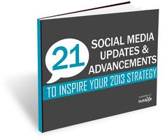21 Social Media Updates & Advancements to Inspire Your 2013 Strategy 2012 was a year of change in social media Inbound Marketing, Internet Marketing, Online Marketing, Social Media Marketing, Digital Marketing, Marketing Tools, Internet News, Social Media Updates, Business Articles