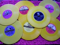 1940s to 1950s vintage childrens' Golden Records