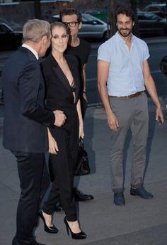 Céline Dion : elle dévoile sa poitrine avec une nouvelle tenue très sexy !