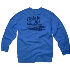 b146721581 Costa Del Mar Men s Beachside Long Sleeve Shirt