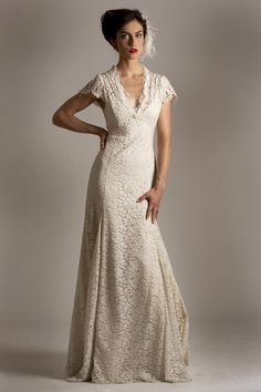 wedding gowns for the woman over 40   50s wedding dresses, 50s ...