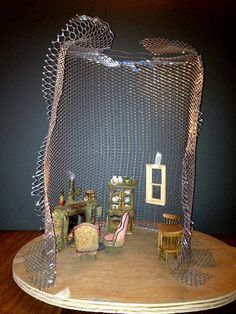 Tutorial: Fairy House Tree House by Torisaur, via Flickr. Beginning of tutorial series for miniature tree house / fairy house. Great to see how form / structure is made. #dollhouse #miniature