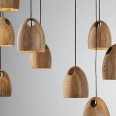 Elegant Pendant Lamp In Unique Spherical Shape U2013 Oak Pendant Lamps
