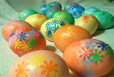 Get cracking with Easter crafts for kids: Mod Podge decoupage Easter eggs from Design Mom
