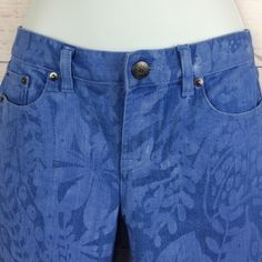 J Crew printed ankle jeans J Crew printed ankle jeans toothpick style Sz 28 inseam 28 J. Crew Jeans Ankle & Cropped