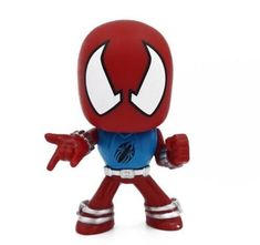 Funko Mystery Mini Marvel Spider-Man Scarlet Spider Bubblehead