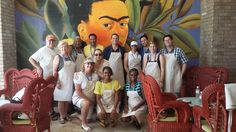 KHM Pinnacle Agents after a private ceviche cooking class at Grand Velas Resort in Riviera Maya. #travelagentlife #mexico #khmrocks #khmlive