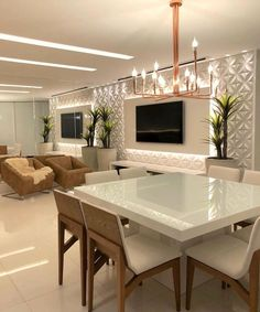 Different TV Background Wall Design Makes The Living Room Look High-end, Atmospheric and Superior - Lily Fashion Style Living Room Decor Cozy, Living Room Tv, Home And Living, Room Interior, Interior Design Living Room, Living Room Designs, Kitchen Decor, Kitchen Design, Restaurant Interior Design